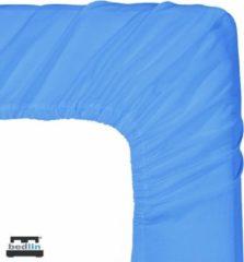 Bedlin Hoeslaken Micropercal 1 persoon en strijkvrij (90/100 x 200cm) Lichtblauw