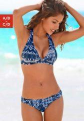 S.Oliver RED LABEL Beachwear Triangel-Bikini im trendigen Alloverdruck