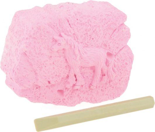 Afbeelding van Roze Toitoys OPGRAAFSET EENHOORN GLOW IN THE DARK