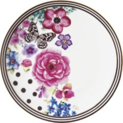 Gouden Melli Mello - Breakfast Plate Nora - Ontbijtbord - Bord - Bloemen
