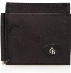 Zwarte Castelijn & Beerens Gaucho Dollarclip Portemonnee RFID Black
