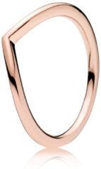 Pandora 186314 Ring Shining Wish zilver rosékleurig Maat 52