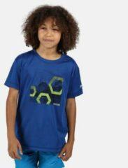 Blauwe Regatta Childrens/Kids Alvardo V Graphic T-Shirt