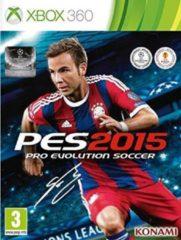 Konami Pro Evolution Soccer 2015 Xbox 360