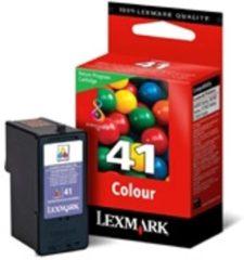 Gele Lexmark Nr. 41 retourprogramma kleuren inktcartridge