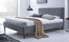Home Style Tweepersoonsbed Flexy 160x200cm in grijs