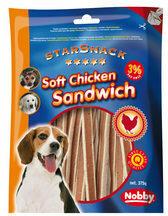 Nobby - Starsnack Soft Chicken Sandwich - 375 g