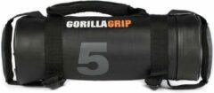 Zwarte GORILLAGRIP POWERBAG 5 KG