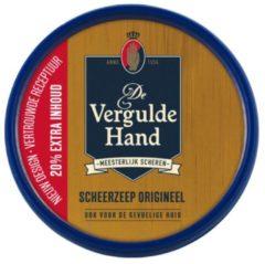 6x Vergulde Hand Scheerzeeptablet Normaal 75 gr