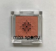 Oranje Miss Sporty Studio Colour Mono - 129 Sunset - Abrikoos Roze - Oogschaduw