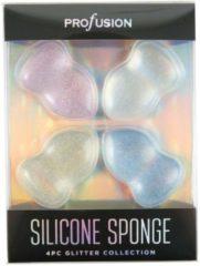 Blauwe Profusion Silicon Sponge Set