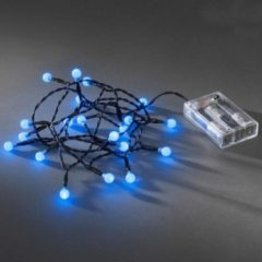 EGB Konstsmide 1491-407 20 lampen LED Light decoration chain Zwart