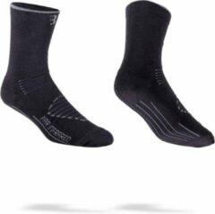 BBB Cycling BSO-16 - Fietssokken FIRFeet - Thermo - Winter - Maat 44/47 - zwart/grijs