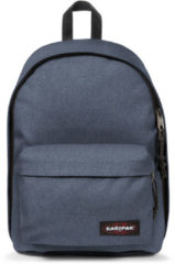 Blauwe Eastpak Out of Office Rugzak crafty jeans backpack