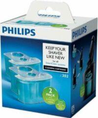 Philips reiniging reiniger cartridge scheerapparaat - SmartClean - 2 stuks - reinigingsmiddel shaver