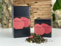 Moments Enchanted by Love - losse groene thee - lychee smaak - 75 gram - ± 30 kopjes