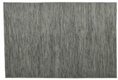 Donkergrijze Garden impressions Buitenkleed- Willow karpet - 160x230 anthracite