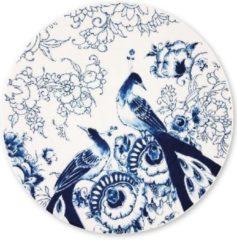 Blauwe ROYAL DELFT - Peacock Symphony - Onderbord 30cm