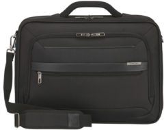 Zwarte Samsonite Aktetas Vectura Evo 17.3 inch- office case black