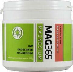 MAG365 Magnesiumpoeder - Passievrucht & Citroenzuur 150 Gram