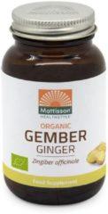 Mattisson / Biologische Gember - 120 vegan capsules