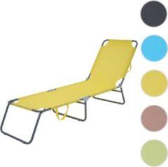 Heute-wohnen Sonnenliege HWC-B11, Relaxliege Gartenliege, Textil klappbar