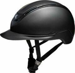 Zwarte Nomic M black matt, Ked's nieuwste model met hoofomtrek 52-58cm