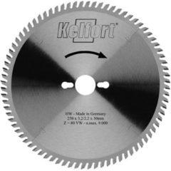Kelfort Kelford zaagblad HM 210x30 30-tands - voor aluminium en plaatmateriaal geschikt voor Trespa