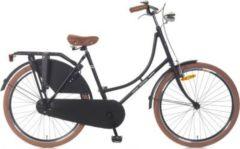 26 Zoll Popal Omafiets OM26 Damen Holland Fahrrad Popal matt-schwarz