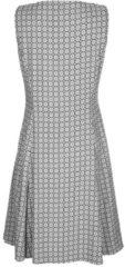 Kleid Alba Moda Grau/Schwarz/Weiß