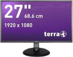 Terra LED 2747W LED-monitor 68.6 cm (27 inch) Energielabel A+ (A++ - E) 1920 x 1080 pix Full HD 5 ms DVI, HDMI, Audio-Line-in AMVA LED