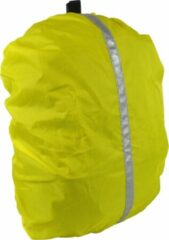 Dresco Regenhoes Rugzak 20 Liter Polyester Reflecterend Geel