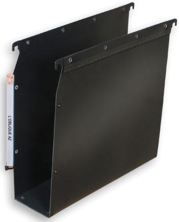 Afbeelding van Elba L'Oblique hangmappen voor kasten Ultimate bodem 80 mm, zwart
