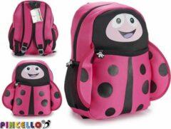 Pincello Kinderrugzak/schoolzak Lieveheersbeestje