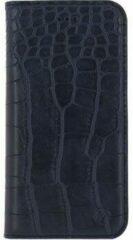Blauwe Mobilize Premium Gelly Book Case Apple iPhone 7 Plus Alligator Indigo Blue