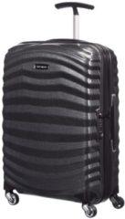 Zwarte Samsonite Reiskoffer - Lite-Shock Spinner 55/20 (Handbagage) Black