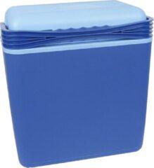 Carpoint Koelbox 21 Liter Met 12/230v Stekkers Blauw