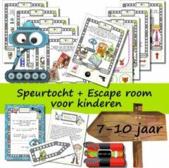 Speurfactory Escape room + speurtocht voor kinderen - Het gevaarlijke Robo virus - kinderfeestje - compleet draaiboek - print zelf uit!