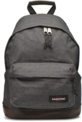 Authentic Collection Wyoming Rucksack mit Leder 40 cm Eastpak black denim