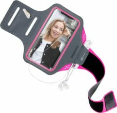 Mobiparts Comfort Fit Sport Armband Apple iPhone 11 Sporthoesje Roze