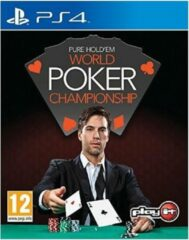 Play It Pure Hold'em World Poker Championship PS4 (P4-SY005PS4M)