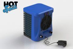 Blauwe Pool Improve warmtepomp Hot Splash 2,4 Kw 31 x 30 x 36 cm blauw