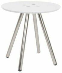 Zilveren Leitmotiv Side table Sliced