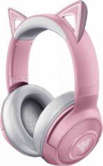 Roze Razer Kraken Wireless BT Headset - Kitty Edition - Quartz