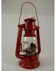 Rode Stormlantaarn 24,5 cm rood