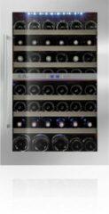 Blauwe Le Chai LB555 - Inbouw Wijnkoelkast - RVS - 50 flessen - 2 Temperatuurzones