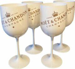 Witte Moet & Chandon Moët & Chandon Ice Imperial Champagneglazen - 4 stuks