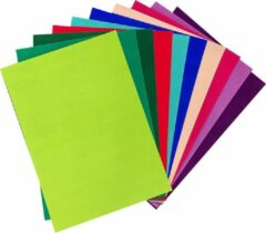 Fuchsia Joycrafts Joy!Crafts / Velvet, Velours, Fluweel Papier / Zelfklevend Karton / A4 x 10 vellen / Intensieve kleuren / 200grams