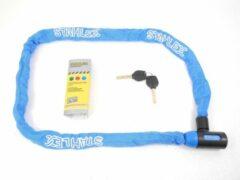 Deltafix Stahlex Ø5mm / 120cm kettingslot fietsslot | 635g ideaal gewicht voor een fietser | zeer goede kwaliteit | blauw