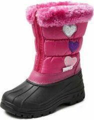 Gevavi Winter Boots | CW94 Gevoerde Winterlaars | Snowboots Kinderen | Maat 34 | Roze